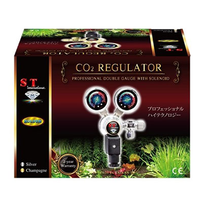 Best Aquarium CO2 Regulators S.T. International Aquarium 2-Gauge Professional CO2 Regulator