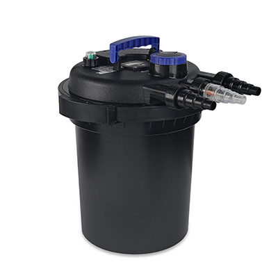 Best Canister Filters for Aquariums XtremepowerUS 10000 Koi Pond Pressure Bio Filter UV Sterilizer